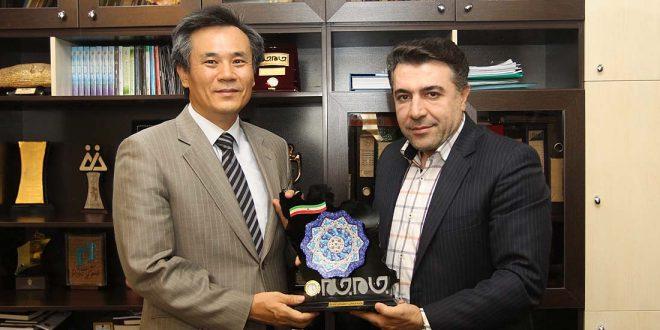 دیدار با سفیر کره جنوبی